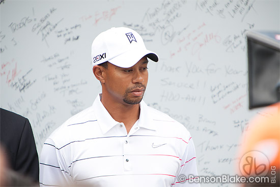 Tiger Woods Returns to DC