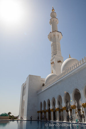 The Grand Mosque in Abu Dhabi, UAE
