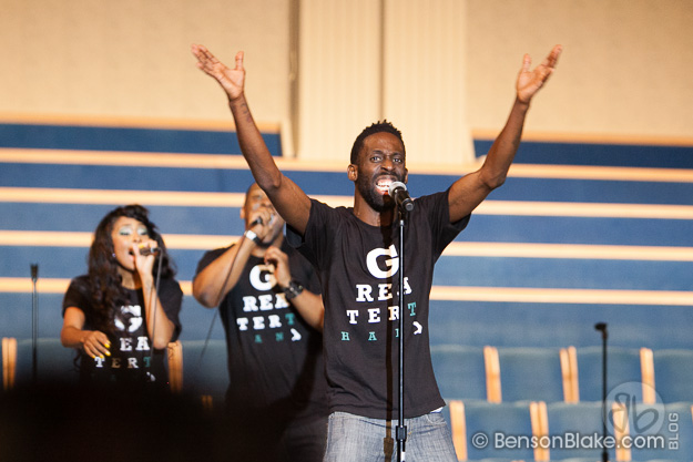 Tye Tribbett Performs at Jericho