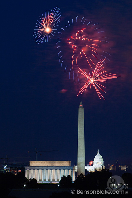 Washington DC July 4th Fireworks 2014