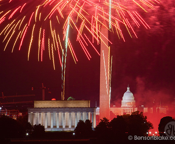 July 4th Capitol Fireworks