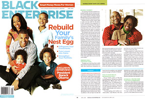 Natalynn Roman in Black Enterprise Magazine