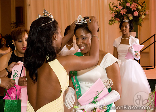 Crowning of Miss Tea Rose 2009
