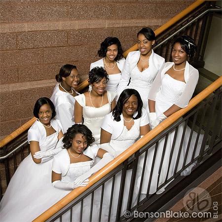 Debutante group portrait 2009