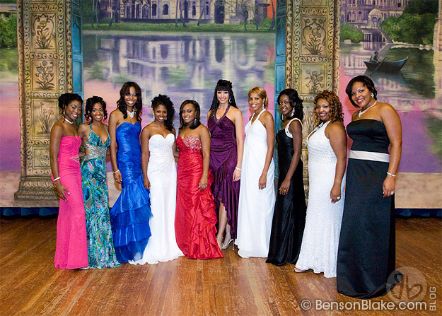 Contestants backstage at Miss HU Pageant 2009