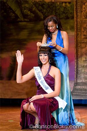 Nikole Churchill crowned Miss Hampton University 2009-2010