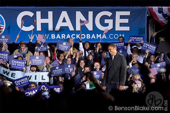 Obama Rally in Manassas