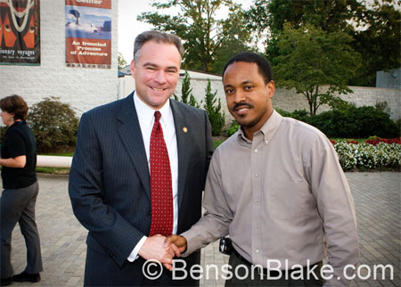 SCLC President's Reception with Governor Kaine