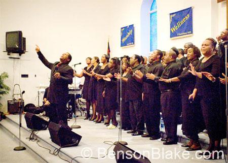 VA Mass Choir in West Virginia